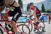 Tejay van Garderen (USA/BMC) warming up pre-stage<br /> <br /> Stage 17: Tirano &rsaquo; Canaze (219km)<br /> 100th Giro d'Italia 2017