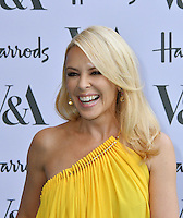 Kylie Minogue at V&amp;A Museum Summer Party fundraising benefit hosted by CondŽ Nast at Victoria and Albert Museum, London, England on June 22, 2016.<br /> CAP/JOR<br /> &copy;JOR/Capital Pictures<br /> Kylie Minogue at V&amp;A Museum Summer Party fundraising benefit hosted by Cond&eacute; Nast at Victoria and Albert Museum, London, England on June 22, 2016.<br /> CAP/JOR<br /> &copy;JOR/Capital Pictures /MediaPunch ***NORTH AND SOUTH AMERICAS ONLY***