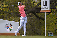 Rafael Cabrera Bello (ESP) watches his tee shot on 10 during day 2 of the World Golf Championships, Dell Match Play, Austin Country Club, Austin, Texas. 3/22/2018.<br /> Picture: Golffile | Ken Murray<br /> <br /> <br /> All photo usage must carry mandatory copyright credit (&copy; Golffile | Ken Murray)