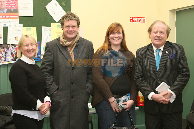 Hazel Markey, Mark Deery, Laura O'Shaughnessy, Irish Seal Sanctuary and Frank Godfrey at the Clogherhead Tourism Meeting...Photo NEWSFILE/Jenny Matthews.(Photo credit should read Jenny Matthews/NEWSFILE)....This Picture has been sent you under the condtions enclosed by:.Newsfile Ltd..The Studio,.Millmount Abbey,.Drogheda,.Co Meath..Ireland..Tel: +353(0)41-9871240.Fax: +353(0)41-9871260.GSM: +353(0)86-2500958.email: pictures@newsfile.ie.www.newsfile.ie.FTP: 193.120.102.198.