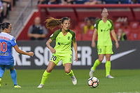 Bridgeview, IL - Wednesday August 16, 2017: Rumi Utsugi during a regular season National Women's Soccer League (NWSL) match between the Chicago Red Stars and the Seattle Reign FC at Toyota Park. The Seattle Reign FC won 2-1.