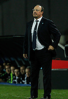 Rafael Benitez<br /> <br />  UEFA Europa League round of 32 second  leg match, betweenAC  Napoli  and Swansea City   at San Paolo stadium in Naples, Feburary 27 , 2014