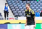 ***BETALBILD***  <br /> Solna 2015-05-10 Fotboll Allsvenskan AIK - IFK Norrk&ouml;ping :  <br /> AIK:s Sauli V&auml;is&auml;nen firar sitt 2-1 m&aring;l under matchen mellan AIK och IFK Norrk&ouml;ping <br /> (Foto: Kenta J&ouml;nsson) Nyckelord:  AIK Gnaget Friends Arena Allsvenskan IFK Norrk&ouml;ping jubel gl&auml;dje lycka glad happy