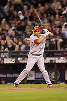 September 24, 2008: Los Angeles Angels of Anaheim's Kendry Morales at-bat during a game against the Seattle Mariners at Safeco Field in Seattle, Washington.
