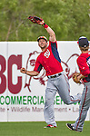 12 March 2014: Washington Nationals outfielder Steven Souza pulls in a fly to right during a Spring Training game against the Houston Astros at Osceola County Stadium in Kissimmee, Florida. The Astros rallied in the bottom of the 9th to edge out the Nationals 10-9 in Grapefruit League play. Mandatory Credit: Ed Wolfstein Photo *** RAW (NEF) Image File Available ***