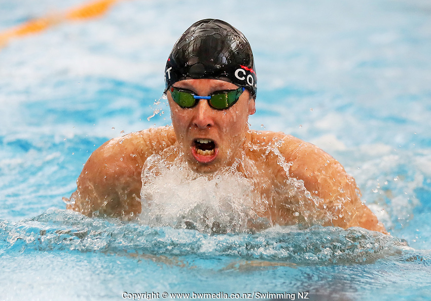 Dean Kent. New Zealand Short Course Swimming Championships, National Aquatic Centre, Auckland, New Zealand, Saturday 5th October 2019. Photo: Simon Watts/www.bwmedia.co.nz/SwimmingNZ