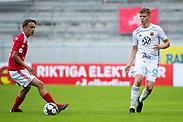 KALMAR, SWEDEN - JULY 01: Eirik Haugan of Ostersunds FK during the Allsvenskan match between Kalmar FF and Ostersunds FK at Guldfageln Arena on July 1, 2020 in Kalmar, Sweden. (Photo by David Lidström Hultén/LPNA)