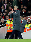 Arsenal's Arsene Wenger in action during the premier league match at the Emirates Stadium, London. Picture date 22nd December 2017. Picture credit should read: David Klein/Sportimage