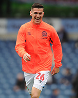 Blackburn Rovers' Darragh Lenihan during the pre-match warm-up <br /> <br /> Photographer Kevin Barnes/CameraSport<br /> <br /> The EFL Sky Bet Championship - Blackburn Rovers v Luton Town - Saturday 28th September 2019 - Ewood Park - Blackburn<br /> <br /> World Copyright © 2019 CameraSport. All rights reserved. 43 Linden Ave. Countesthorpe. Leicester. England. LE8 5PG - Tel: +44 (0) 116 277 4147 - admin@camerasport.com - www.camerasport.com