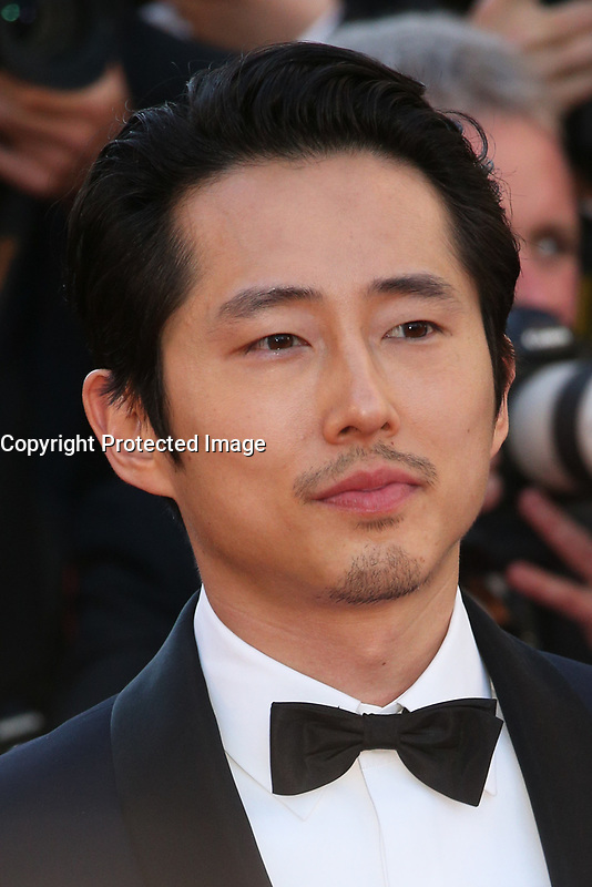 STEVEN YEUN - RED CARPET OF THE FILM 'OKJA' AT THE 70TH FESTIVAL OF CANNES 2017