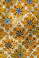 Tunis, Tunisia.  Lion's Paw Tiles, Dar Lasram, Tunis Medina.