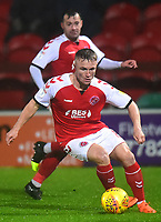 Fleetwood Town's Kyle Dempsey in action<br /> <br /> Photographer Richard Martin-Roberts/CameraSport<br /> <br /> The EFL Sky Bet League One - Saturday 15th December 2018 - Fleetwood Town v Burton Albion - Highbury Stadium - Fleetwood<br /> <br /> World Copyright &not;&copy; 2018 CameraSport. All rights reserved. 43 Linden Ave. Countesthorpe. Leicester. England. LE8 5PG - Tel: +44 (0) 116 277 4147 - admin@camerasport.com - www.camerasport.com