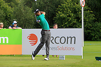 Thomas Pieters (BEL) on the 10th tee during Round 2 of the Irish Open at Fota Island on Friday 20th June 2014.<br /> Picture:  Thos Caffrey / www.golffile.ie