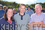 At The Ballinskelligs regatta on Sunday were l-r; Mary B Teehan, Michael Moran & Kevin Donnelly.