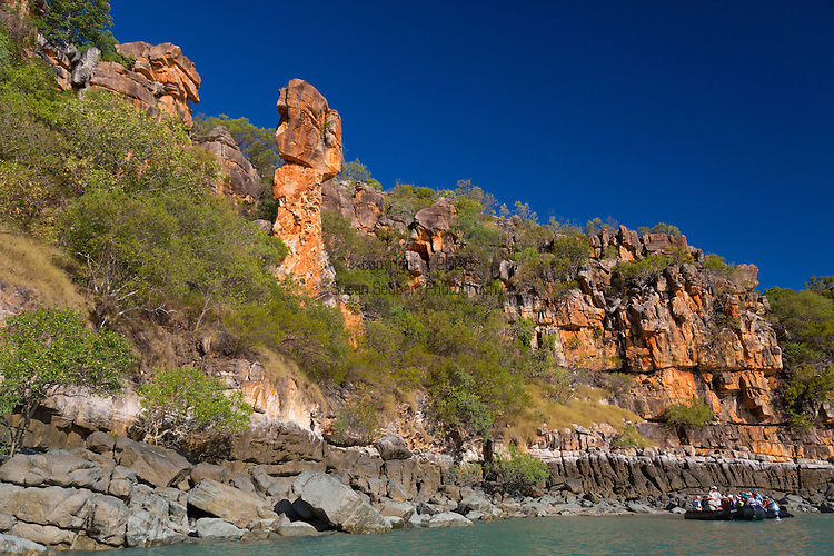 The Hoodoo, a geologic feature known as Thor's Hammer, Kimberley Coast, Australia
