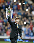 Richard Gough with the SFL trophy he lifted for nine-in-a-row
