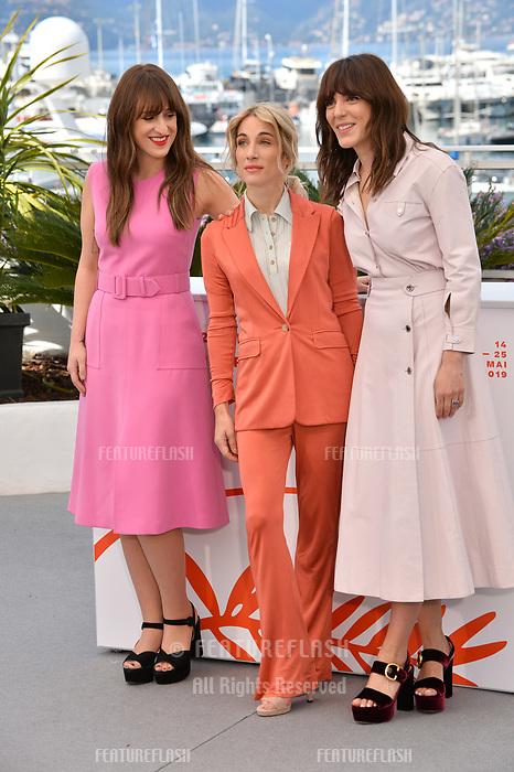 "CANNES, FRANCE. May 15, 2019: Elizabeth Bosse, Nancy Grant & Monia Chokri  at the photocall for ""A Brother's Love"" at the 72nd Festival de Cannes.<br /> Picture: Paul Smith / Featureflash"