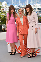 """CANNES, FRANCE. May 15, 2019: Elizabeth Bosse, Nancy Grant & Monia Chokri  at the photocall for """"A Brother's Love"""" at the 72nd Festival de Cannes.<br /> Picture: Paul Smith / Featureflash"""