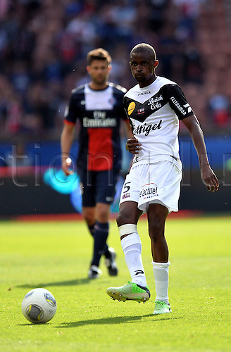 31.08.2013. Paris, France. French League football. Paris St Germain versus Guingamp Aug 31st.  Mustapha Diallo (gui)