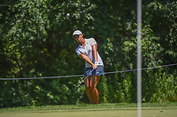 Cheyenne Woods (USA) chips on to 12 during round 2 of the 2018 KPMG Women's PGA Championship, Kemper Lakes Golf Club, at Kildeer, Illinois, USA. 6/29/2018.<br /> Picture: Golffile | Ken Murray<br /> <br /> All photo usage must carry mandatory copyright credit (© Golffile | Ken Murray)
