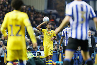 Kyle Naughton of Swansea City takes a throw in during the Sky Bet Championship match between Sheffield Wednesday and Swansea City at Hillsborough Stadium, Sheffield, England, UK. Saturday 09 November 2019