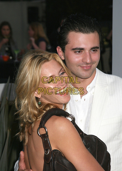 NATASHA HENSTRIDGE & DARIUS DANESH.Travel + Leisure Magazine's 35th Birthday Party at W Hotel, Westwood, California, USA..April 19th, 2006.Photo: Byron Purvis/AdMedia/Capital Pictures.Ref: BP/ADM.headshot portrait.www.capitalpictures.com.sales@capitalpictures.com.© Capital Pictures.