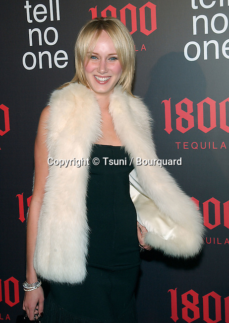 "Kimberly Stewart arriving ""At Tell No One, talent party promoting the 1800 Tequila""  at the Chatau Marmont in Los Angeles. May, 2nd 2002.             -            StewartKimberly03.jpg"