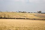Westdown army military camp barracks, Tilshead, Salisbury Plain, Wiltshire, England, UK