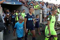 Cary, North Carolina  - Saturday August 05, 2017: Lynn Williams prior to a regular season National Women's Soccer League (NWSL) match between the North Carolina Courage and the Seattle Reign FC at Sahlen's Stadium at WakeMed Soccer Park. The Courage won the game 1-0.