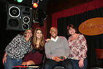 All My Children's Chrishell Stause & J.R. Martinez pose with fans on November 22, 2009 at the Brokerage Comedy Club & Vaudeville Cafe, Bellmore, NY for a Q & A, autographs and photos. (Photo by Sue Coflin/Max Photos)