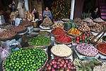 Fruit and vegetable market, Hanoi, Vietnam
