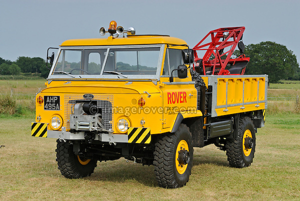Buttercup: Land Rover forward control two tonne truck prototype. Dunsfold Collection Open Day 2009. NO RELEASES AVAILABLE.
