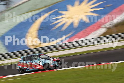 KUALA LUMPUR, MALAYSIA - May 29: William HO Wee Leong of Malaysia (#37) Malaysia Championship Series Round 1 at Sepang International Circuit on May 29, 2016 in Kuala Lumpur, Malaysia. Photo by Peter Lim/PhotoDesk.com.my