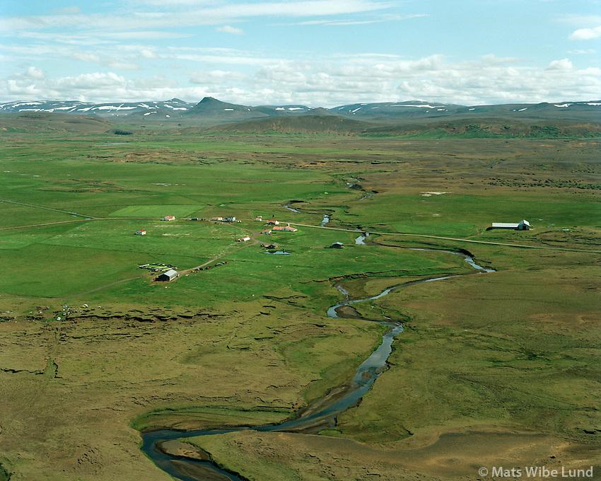 Grímsstaðir á Fjöllum, séð til austurs, Norðurþing áður  Fjallahreppur / Grimsstadir a Fjollum, viewing east, Nordurthing former Fjallahreppur.