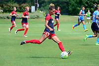 Boyds, MD - Sunday July 31, 2016: Estelle Johnson during a regular season National Women's Soccer League (NWSL) match between the Washington Spirit and Sky Blue FC at Maureen Hendricks Field, Maryland SoccerPlex. The Washington Spirit defeated Sky Blue FC 3-1.