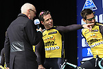 Bram Tankink (NED) Team Lotto NL-Jumbo presented to the crowd before the start of the 60th edition of the Record Bank E3 Harelbeke 2017, Flanders, Belgium. 24th March 2017.<br /> Picture: Eoin Clarke | Cyclefile<br /> <br /> <br /> All photos usage must carry mandatory copyright credit (&copy; Cyclefile | Eoin Clarke)