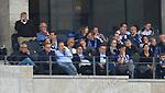 10.09.2017, OLympiastadion, Berlin, GER, 1.FBL, Hertha BSC VS. SV Werder Bremen, im Bild <br /> Werner Gegenbauer (Hertha BSC Berlin), Ingo Schiller (Hertha BSC)<br /> <br />       <br /> Foto &copy; nordphoto / Engler
