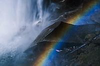 Rainbow beneath Yosemite Falls, Yosemite National Park, California