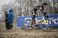 Tom Meeusen (BEL/Telenet-Fidea)<br /> <br /> elite men's race<br /> GP Sven Nys 2017