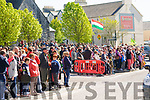 Listowel Military Tattoo: A section of the large crowd attending the mock war battlle in the Square on Sunday afternoon last.