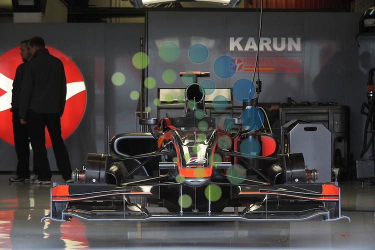 F1 GP of Spain, Barcelona 06.-09. May 2010.Hispania Racing F1..Picture: Hasan Bratic/Universal News And Sport (Europe) 7 May 2010.