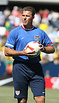 09 September 2007: United States goalkeeper coach Juergen Sommer. The Brazil Men's National Team defeated the United States Men's National Team 4-2 at Soldier Field in Chicago, Illinois in an international friendly labeled the Clash of Champions.