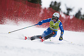 17th March 2018, Àvet Slope, Soldeu, Andorra; FIS Alpine Ski European Cup, Slalom Ladies Finals; #4 AZZOLA Michela from ITA during the Slalom Final
