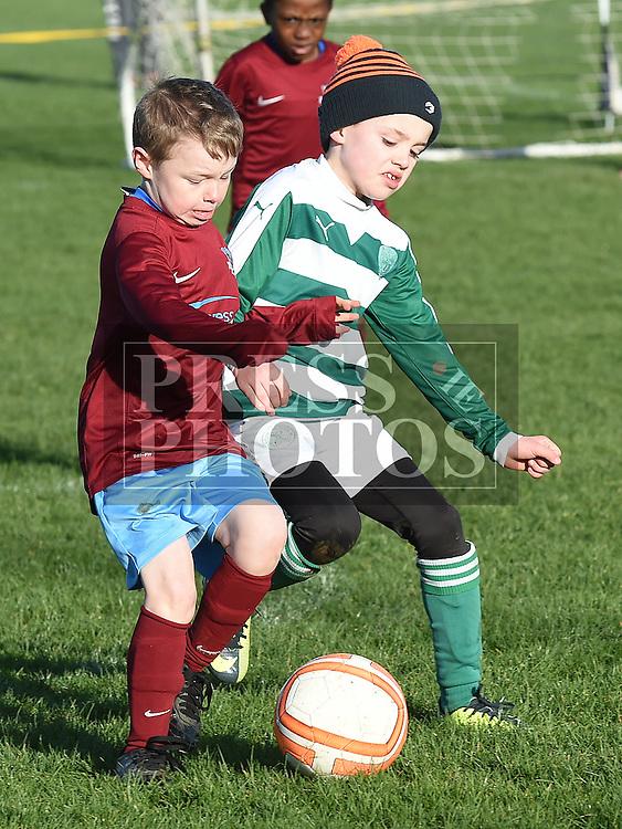 Drogheda Boys Conor Hart Termonfeckin Green Dara Brady. Photo:Colin Bell/pressphotos.ie
