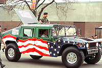 National Guard Hummer at Cinco de Mayo festival.  St Paul Minnesota USA