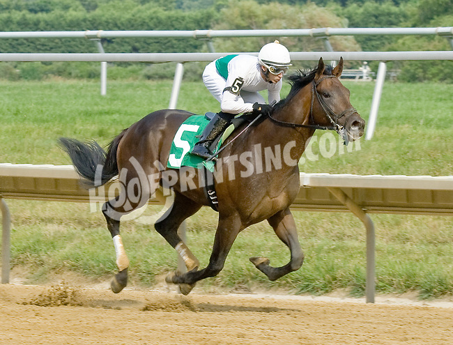 Ever So Lucky winning at Delaware Park on 7/5/12