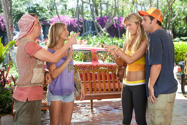 NICK SWARSDON, JENNIFER ANISTON, BROOKLYN DECKER & ADAM SANDLER.in Just Go with It (Season 3).*Filmstill - Editorial Use Only*.CAP/FB.Supplied by Capital Pictures.