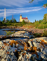 Copper Harbor Light,  Lake Superior<br />