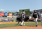 Masahiro Tanaka (Yankees),<br /> APRIL 16, 2014 - MLB : Masahiro Tanaka of the New York Yankees before the Major League Baseball interleague baseball  doubleheader game against the Chicago Cubs at Yankee Stadium in the Bronx, NY, USA.<br /> (Photo by AFLO)