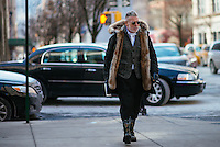 Nick Wooster attends Day 4 of New York Fashion Week on Feb 15, 2015 (Photo by Hunter Abrams/Guest of a Guest)